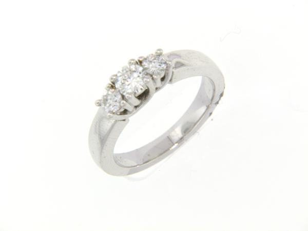 View 3-Stone Ring 14KW 0.50ct